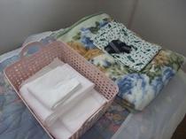 浴衣、タオル、毛布など