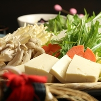 料理_豚しゃぶの野菜