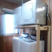 洗濯機・ガス乾燥機