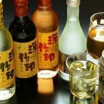 美味しいワイン、女将手作りの梅酒などございます。
