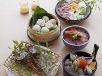 海鮮市場蒸し釜や夕食プラン