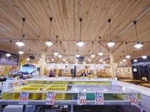 体験型飲食店 海鮮市場 蒸し釜や 店内