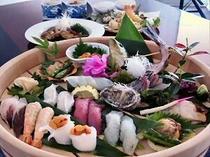 寿司プラン料理