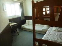 【3階個室】さわやかなベッドル-ム