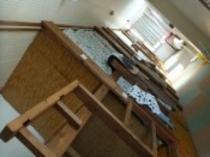 【3階女性専用ドミトリ-】日当たりがよく明るいお部屋です!
