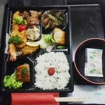 *「日替わり夕食弁当」(一例)