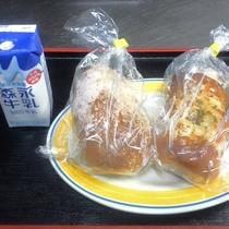 *「日替わり朝食」(一例)