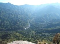 白谷雲水峡太鼓岩
