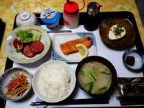 朝食3ハムソテー