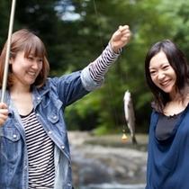 さかな釣り体験