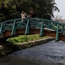 亀山公園 太鼓橋