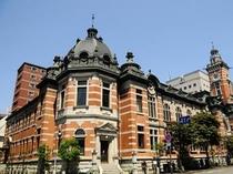 『横浜市開港記念会館』はジャックの塔と呼ばれてます。みなとみらい線日本大通駅下車