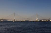 首都高速湾岸線 鶴見つばさ橋です