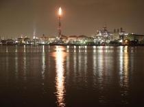 鶴見は京浜工業地帯の中心地です