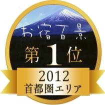 「お宿百景」首都圏1位獲得!