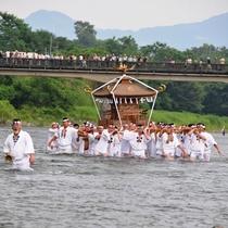 川瀬祭り(7月19日・20日)