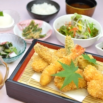 <レストラン自然の恵>揚げ物