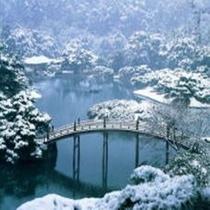 栗林公園 偃月橋【スーパーホテル高松禁煙館】