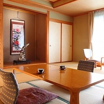 【一般客室】和室10畳間(一例)