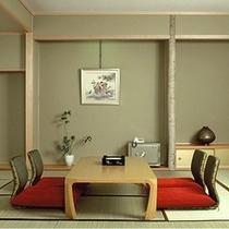 【二間大部屋和室】和室10畳+8畳または10畳+10畳(一例)