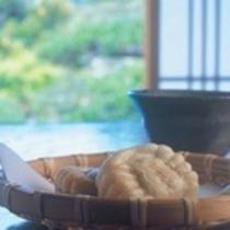 客室のお茶菓子