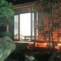 夜庭からの客室