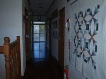 2階の廊下