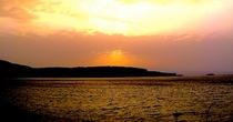 能登島の夕景