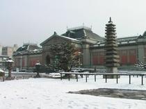 雪の京都博物館