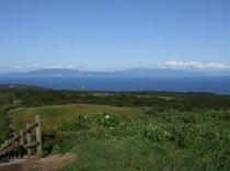 球島山から