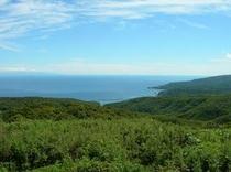 球島山展望台からの絶景!遠くには鍋つる岩があるよ