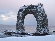 冬~鍋つる岩と大鷲~