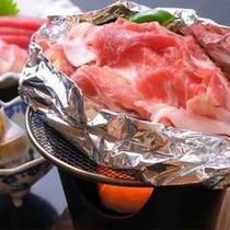 *夕食一例 房総豚