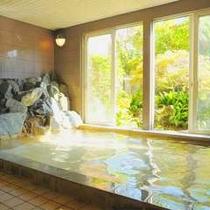 *天然温泉 大浴場