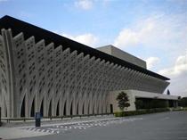 国立郷土劇場 非常に綺麗な建物です