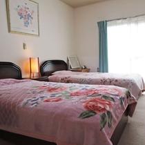 ◎(別館)和洋室ベッドタイプです。