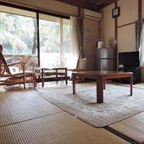 (新館)テラスのついたプライベート空間が人気♪貸切風呂付き!