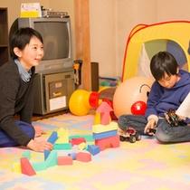 【ファミリールーム】親子で遊べる楽しいおもちゃがたくさん!