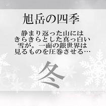 【旭岳の四季】冬