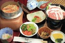 猪釜猪鍋定食