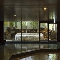 露天風呂付き大浴場「熊野湯」