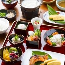 朝はやさしい和食をご用意しました