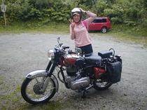 バイクツーリング!気持ちいいね!
