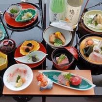 紀州本クエと地魚会席2011冬