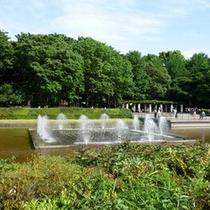 ホテル周辺観光② 竹の台噴水 上野公園