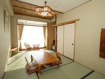 和室(アウトバス・景観なし)の一例
