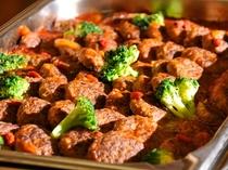 夕食バイキング・料理の一例