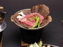 ワインビーフ朴葉焼き(写真はイメージです)