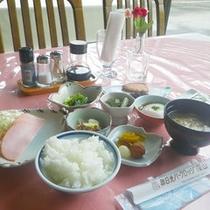 *【朝食例】体に優しい朝ごはん。しっかり食べて1日の栄養を補給♪