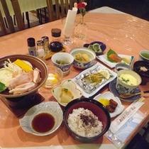 *【夕食例】お客様に「美味しい」と言って頂けるためにこだわってご用意しております。
